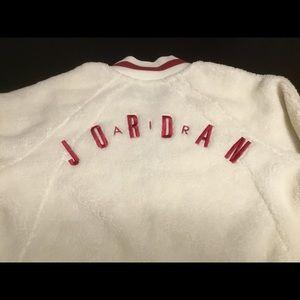 brand new af0e3 b3fcb Jordan Jackets   Coats - Nike Air Jordan Shearling AJ1 Fleece Jacket Sz XL
